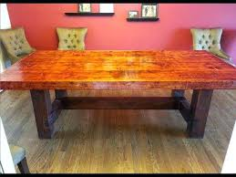 Diy Dining Room Tables Dining Table Rustic Dining Table Building Plans Woodworking Room