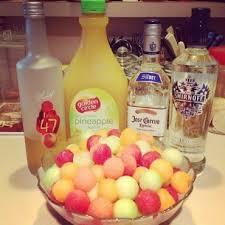 Cocktail Parties Ideas - drunk melon fruit balls cocktail party ideas