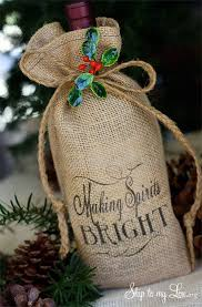 Wine As A Gift The 25 Best Wine Bags Ideas On Pinterest Wine Gift Bags Canvas