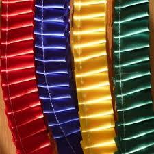 pleated ribbon knife pleated ribbon the manor rosette company