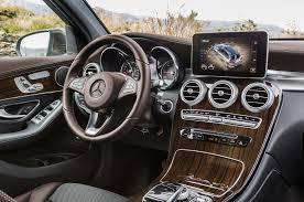 mercedes interior 2016 mercedes glc class review