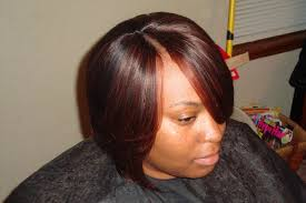 quick weave hairstyles with invisible part black bob hair styles