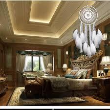 Hall Decoration Ideas Home Aliexpress Com Buy Creative White Feather Big Dream Catcher