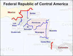 Map Of Middle America by States Of Central America Russian America Alternative History