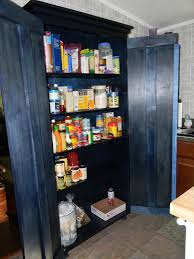 Kitchen Pantry Cabinet Furniture Ana White Simplest Armoire As Kitchen Pantry Diy Projects
