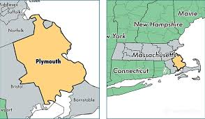 massachusetts on a map plymouth county massachusetts map of plymouth county ma
