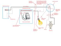 install new wall light fixture box within wiring a diagram