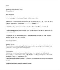 22 appraisal letters free sample example format free