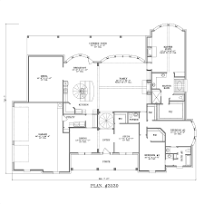 large single story house plans 3501 4000 s f
