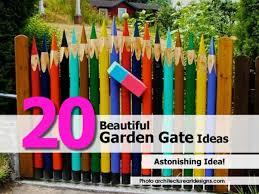 Garden Gate Garden Ideas 20 Beautiful Garden Gate Ideas