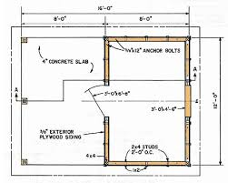 shed floor plans ensy