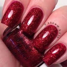 christmas red glitter nail polish kevin home alone christmas