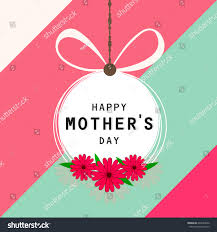 Mother S Day Designs Happy Mothers Day Vector Illustration Greeting Stock Vector