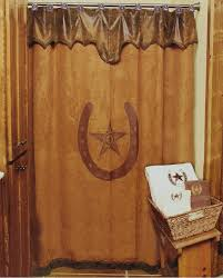 western moments star u0026 horseshoe shower curtain fort brands