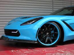 office k u0027s bodacious blue corvette c7 stingray widebody