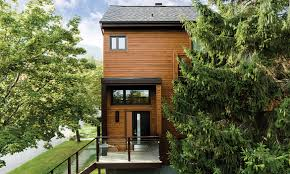Chalet Homes Maibec Residential Mont Ste Anne Chalet Urban Modern