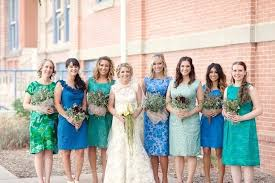 20 mismatched bridesmaid dresses for your modern wedding brit co