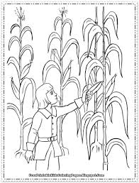 thanksgiving cornucopia coloring pages corn coloring pages printable free printable kids coloring pages