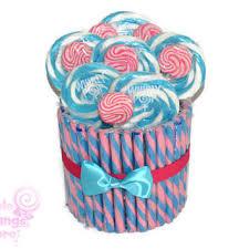 candy arrangements pink and blue candy arrangement candy centerpiece pink blue