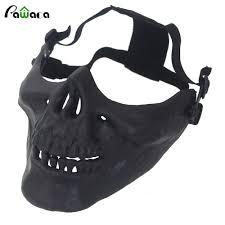 half skull mask halloween compare prices on skeleton half mask online shopping buy low