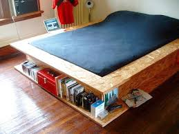 How To Build A Platform Bed With Storage Underneath by 30 Space Saving Beds With Storage Improving Small Bedroom Designs