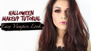 easy vampire makeup halloween makeup tutorial with drugstore