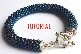 crochet bracelet diy images Crochet beaded bracelet www thehoffmans info jpg