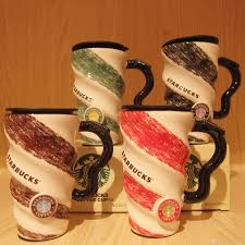 400ml ceramic cup starbucks cup with a large capacity office