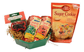 amazon com christmas holiday cookie kit gift set inlcudes mix