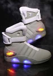 Baby Led Light Suit Halloween Costume by Back To The Future 2 Light Up Shoes Tech Lights And Costumes