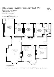 Estate Agents Floor Plans by Thackerays Estate Agents Property For Let 35 Kensington Court W8