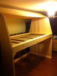 Wood Plans Bunk Bed by Barn Bunk Bed Woodworking Plans Woodshop Plans