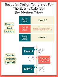 the events calendar templates and shortcode wordpress plugin