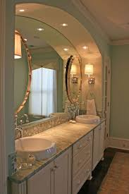 bathroom molding ideas modern master bathroom with concrete floors crown molding in mt