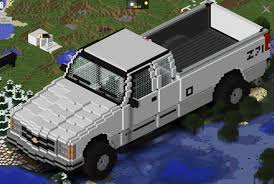 minecraft car real life so i was bored and made my truck in minecraft can i at least get