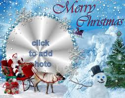 merry frame make your own card for