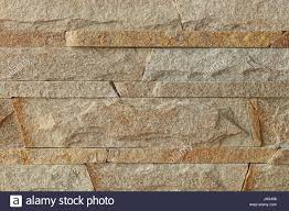 wall stone mosaic made of sandstone texture stock photo royalty