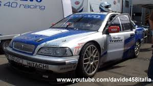volvo race car epic volvo s40 racing btcc on the track pure sound youtube