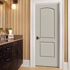 jeld wen interior doors home depot jeld wen 30 in x 80 in continental primed right smooth molded