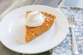 easy thanksgiving desserts easy sweet potato pie with maple whipped cream