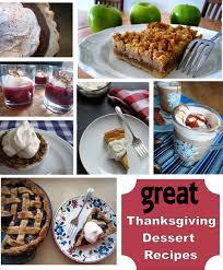 great thanksgiving dessert recipes cheap eats