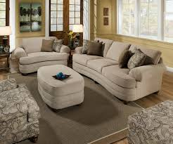 Simmons Harbortown Loveseat Living Room Upholstered Simmons Sleeper Sofa In Grey For Home
