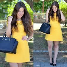 yudani pousada zara combinar vestido amarillo michael kors