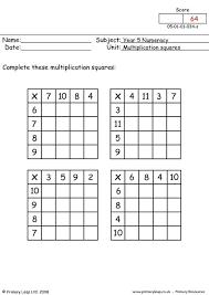 multiplication grids worksheets multiplication practice