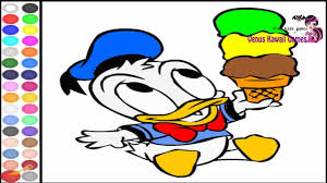 baby donald duck coloring game for childrens youtube
