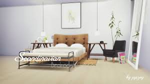 Scandinavian Bed Scandinavian Bedroom New Set Fixed