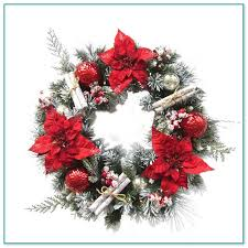 outdoor lighted wreaths