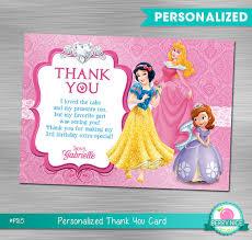 printable thank you cards princess disney princess thank you card princess birthday princess party