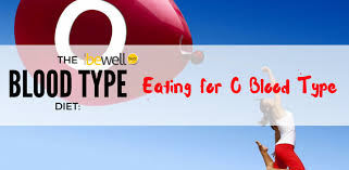 eating for your blood type o u0026 o