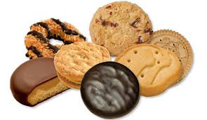 scout cookies for sale at the weston polls the weston forum